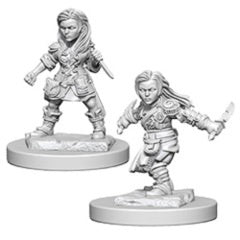 Nolzur Mini: W1 Halfling Female Rogue [WZK72627]