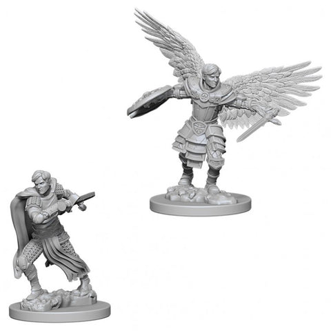 Nolzur Mini: W6 Male Aasimar Fighter [WZK73380]