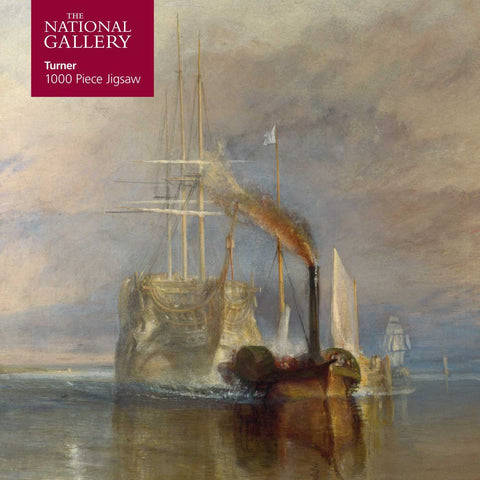 Adult Jigsaw Puzzle National Gallery Turner: Fighting Temeraire: 1000-Piece Jigsaw Puzzles