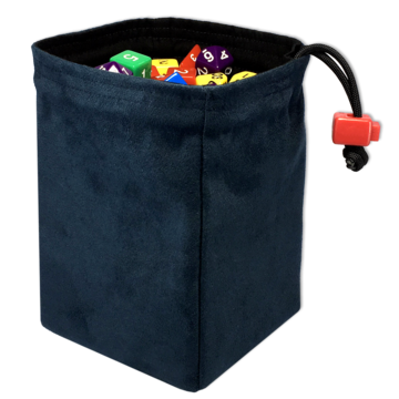 Red King Dice Bag: Classic Blue