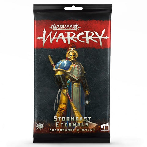 Stormcast Eternals Sacrosanct Chamber Cards - Warcry