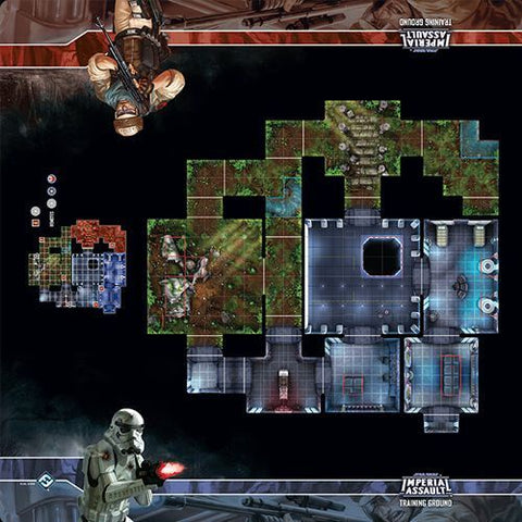 Star Wars - Imperial Assault: Training Ground Skirmish Map
