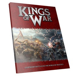 Kings Of War: Second Edition - Gamer'sRulebook (Softcover)