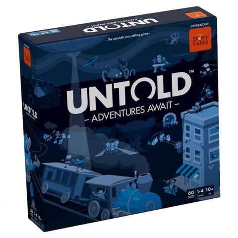 Rory`s Story Cubes: Untold - Adventures Await