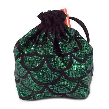 Red King Dice Bag: Mermaid Green