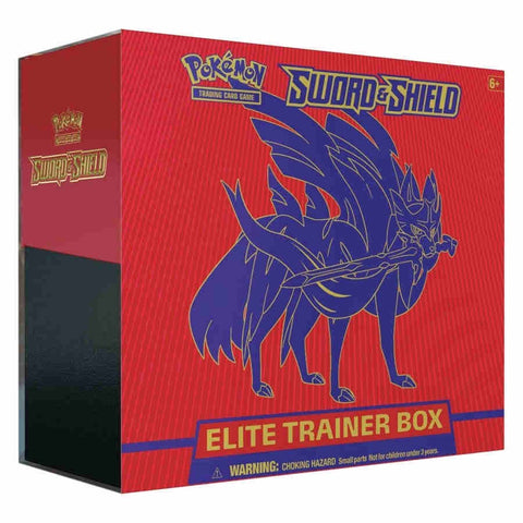 POKEMON TCG: SWORD AND SHIELD ELITE TRAINER BOX