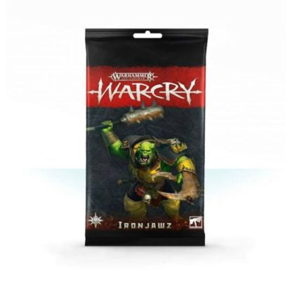 Iron Jawz Cards - Warcry
