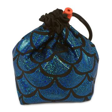 Red King Dice Bag: Mermaid Blue