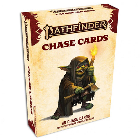 Pathfinder 2E: Chase Cards Deck