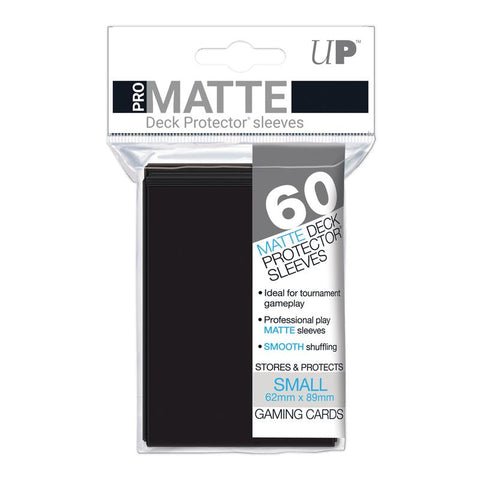 Ultra Pro Small Sleeves Eclipse Gloss Jet Black 60 Count SMALL