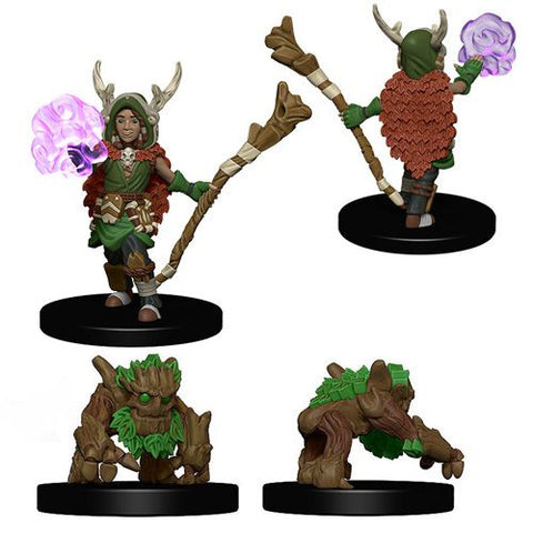 Wardlings: W1 Boy Druid with Tree Companion [WZK73319]
