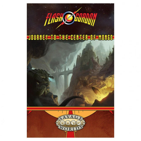 Flash Gordon: RPG: GM Screen&Journey to Mongo Adventure