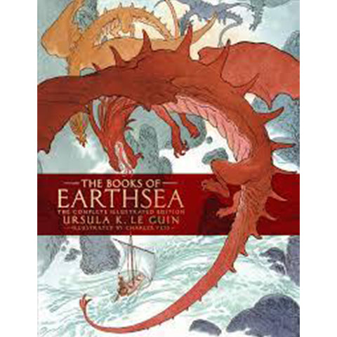 The Books of Earthsea: The Complete Illustrated Edition [Le Guin, Ursula K.]