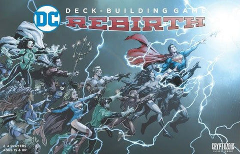 DC Deck Building Game Rebirth