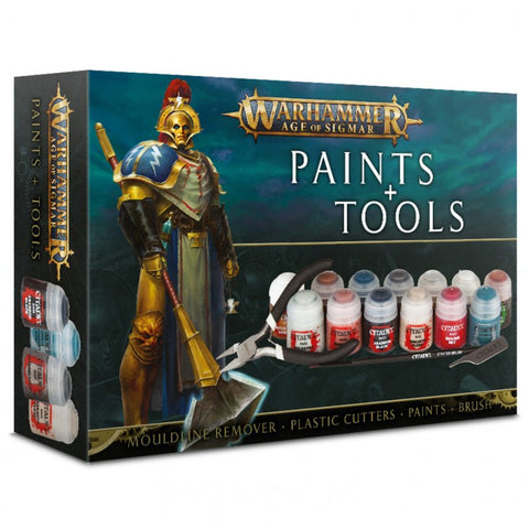 Age of Sigmar: Paints & Tools