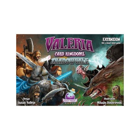 Valeria: Card Kingdon; Shadowvale Expansion
