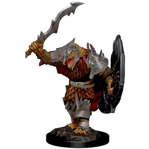 Premium Figure: W1 Icons of the Realms: Dragonborn Male Fighter [WZK73822]