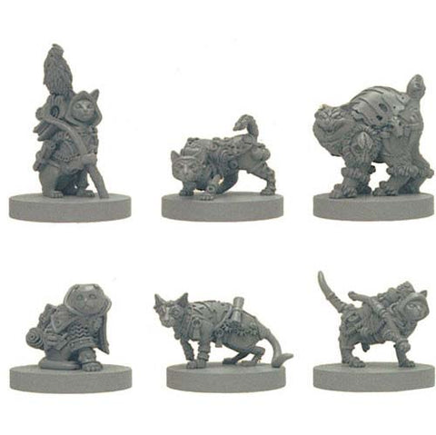 Tooth /& Claw 2 Cats /& Catacombs Steamforged D/&D