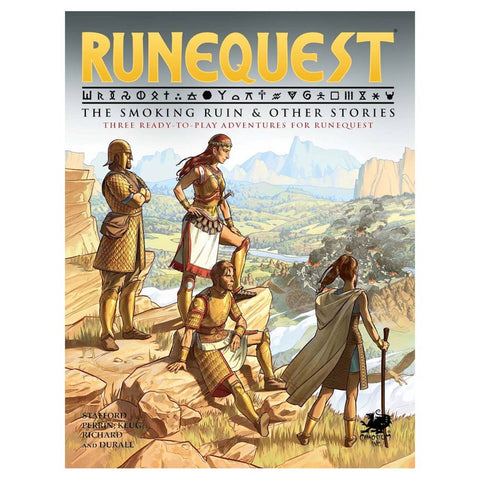 Runequest: Adventures - The Smoking Ruin