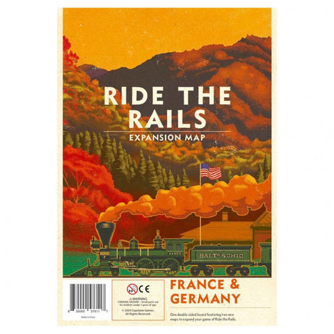 Ride the Rails: France and Germany Exp