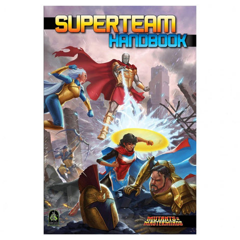 Mutants and Masterminds: Superteam Handbook
