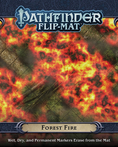 Pathfinder Flip-Mat Forest Fire [PZO30090]