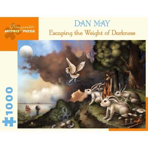 Dan May Escaping the Weight of Darkness 1000-Piece Jigsaw Puzzle