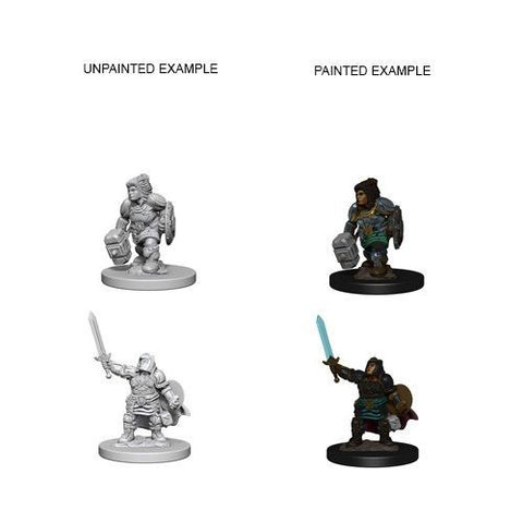 Nolzur Mini: W3 Female Dwarf Paladin [WZK72631]