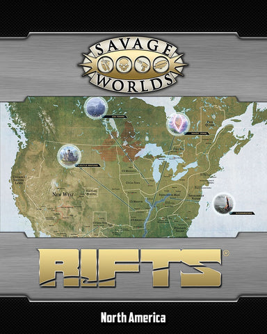 Rifts North America/Castle Refuge Map Pack