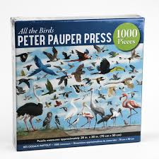 All the Birds 1,000 Piece Jigsaw Puzzle