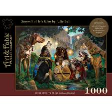 Summit at Iris Glen: 1000 Piece Jigsaw Puzzle [With Print]