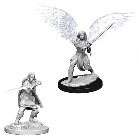 Nolzur Mini: W6 Female Aasimar Fighter [WZK73381]
