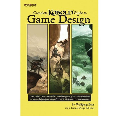 Complete Kobold Guide to Game Design New edition