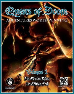 Quests of Doom Adventures Worth Winning Volume 1