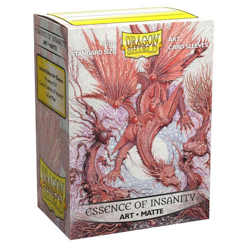 Dragon Shield: Art: Matte Essence of Insanity (100)
