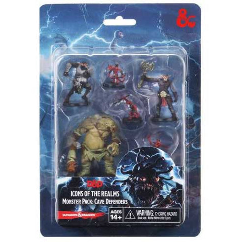 Icons of the Realms Minis - Monster Pack - Cave Defenders [WZK96015]