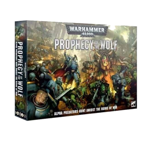 Prophecy of the Wolf: Space Wolves & Orks - 40k