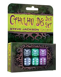 Cthulhu D6 Set by Steve Jackson Games