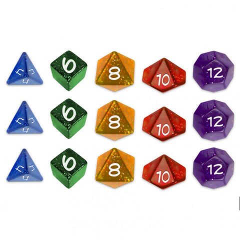Sentinel Comics RPG: Dice Set