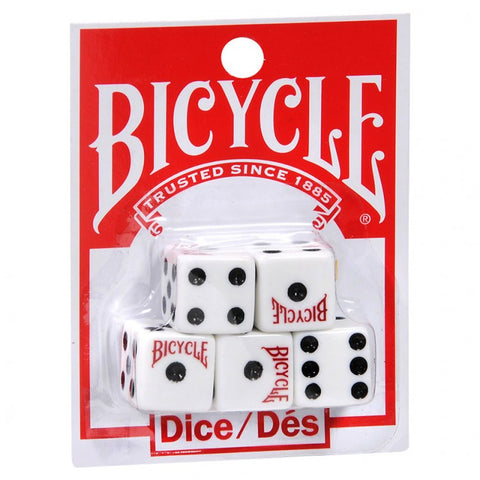 Set of 5 Bicycle d6