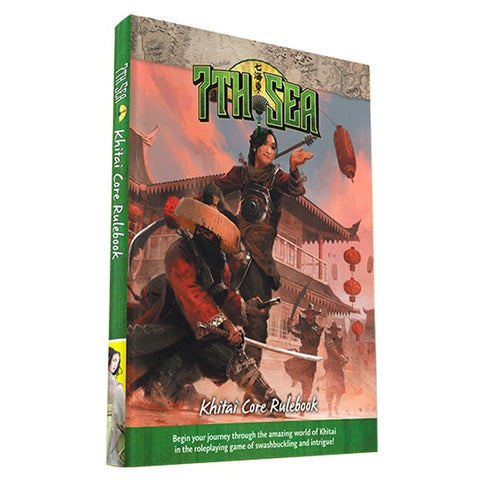7th Sea Khitai Core Rulebook