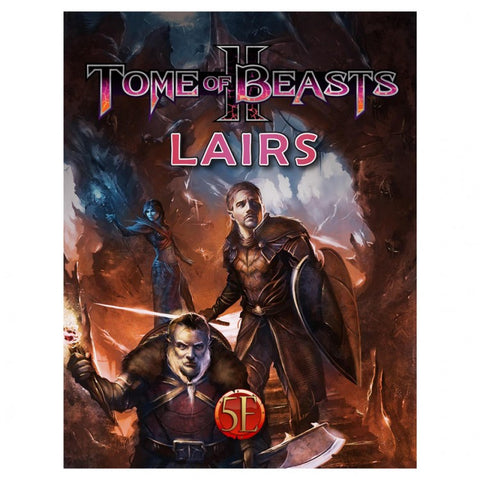 Tome of Beasts II Lairs