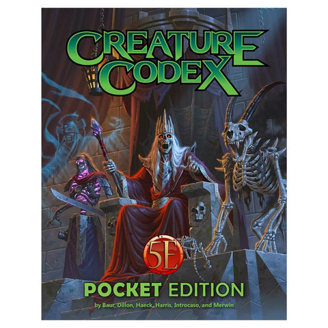 Creature Codex Pocket Edition