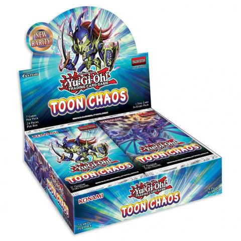 YGO: Toon Chaos Unlimited Booster Pack