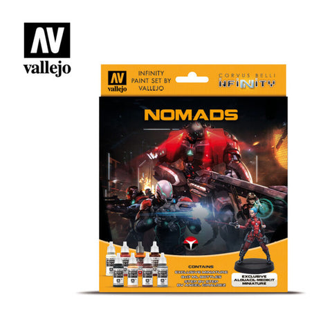 Nomads Infinity Paint Set by Vallejo