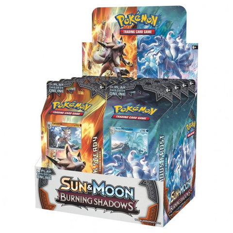 Pokemon: Sun & Moon 3 - Burning Shadows Theme Deck