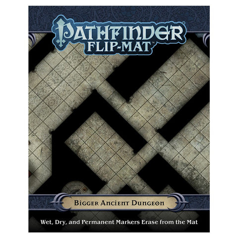 Pathfinder Flip Mat: Bigger Ancient Dungeon