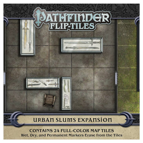 Pathfinder 2E - Flip-Tiles: Urban Slums
