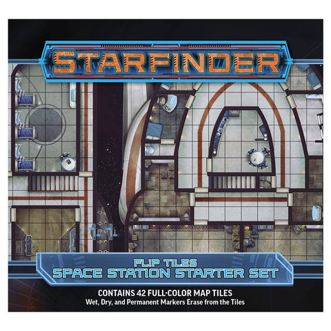 Starfinder RPG: Flip-Tiles - Space Station Starter Set