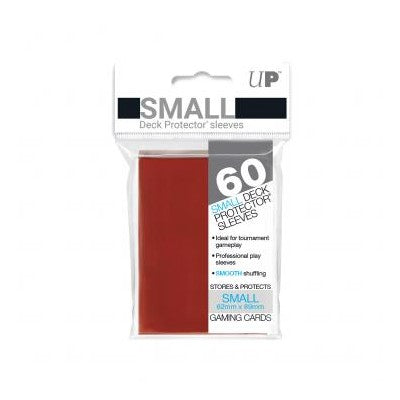 Ultra Pro Small Sleeves Eclipse Gloss Apple Red 60 Count